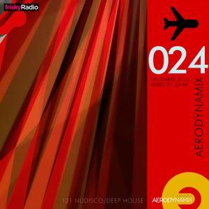 Aerodynamix 024 @ Frisky Radio Dec 2014 mixed by JuanP