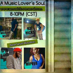 Next Level Htx Artists (Kai Hicks, Mireya, David M Wyatt) on A Music Lover's Soul with Terea 3-13-17