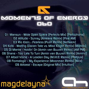Magdelayna - Moments Of Energy 060 [Past Classics VI]