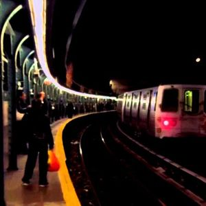 a nice trip in the underground train 4/2015