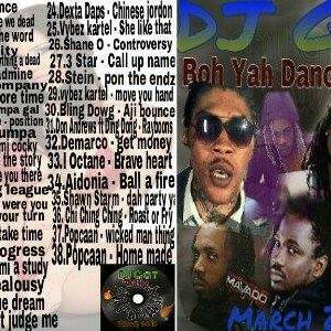 DJ GAT BOH YAH DANCEHALL MIX MARCH 2016 FT ARTIST DEFERENCE