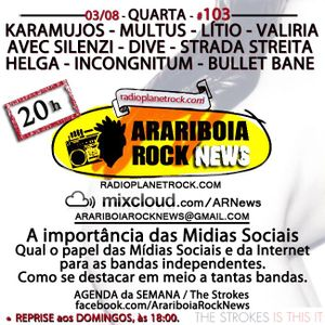 # 103 Arariboia Rock News - 03.08.2016