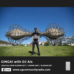 "SGCR Radio Show #91 - 22.10.2018 Episode ""GINGA! with DJ Alx"""