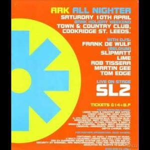 Frank De Wulf at Ark (Leeds - UK) - 10 April 1993