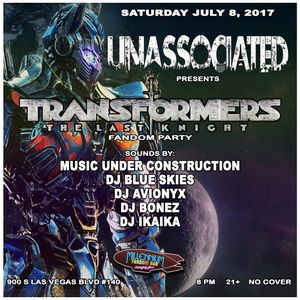 Transformer Fandom Party - DJ Avionyx Live Set 7/8/17