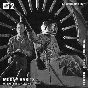 Moony Habits w/ Alex Ho & FaltyDL - 31st May 2017