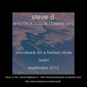 Steve D - Berlitalia 22/23 September (08/09/2012)