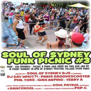 DJ SayWhut?! - Soul Of Sydney Warmup Mix Live on Jumping The Gap 2SER 18/1/17