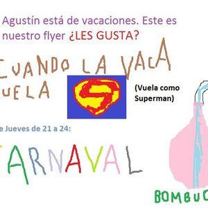 #37 Carnaval toda la vida · Murga A Contrapelo en vivo · Meliza Meza (Comparsa Ará Berá) · 07·02·13