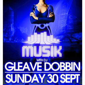 Gleave Live Musik @ Thompsons 30-9-12