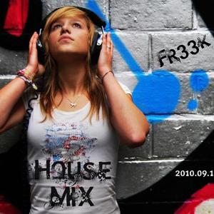 Fr33k - House PROMO MIX 2010.09.17