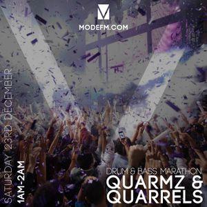 24/12/2017 - Quarmz & Quarrels (D&B Marathon) - Mode FM
