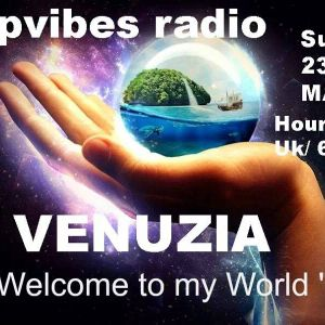 "Vénuzia ""Welcome to my World""@DeepVibesRadio Podcast"