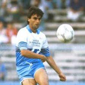 Massimo  Piscedda a NMM in ricordo del 5 Luglio 87 Lazio Campobasso