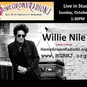 HomegrownRadioNJ.org ~ Willie Nile - Live In Studio - 10-27-13