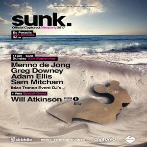 Greg Downey - Live at Sunk Ibiza  10.09.17
