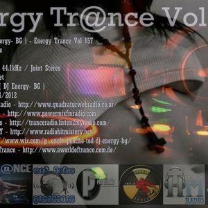 Pencho Tod ( DJ Energy- BG ) - Energy Trance Vol 157