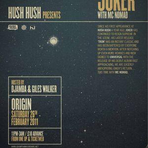 Hush Hush Radio Show November 2010