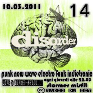 Disorder 14 10.03.2011