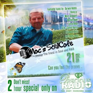 "Mac's SoulCafe, Vol.21 ""Can you feel the groove""  2hour nonstop in the mix!"