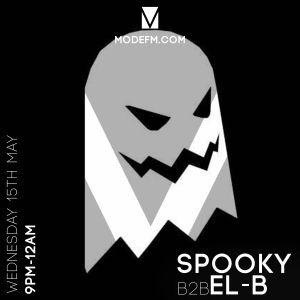 Spooky B2B El-B - Mode FM #NightShift 15-5-19