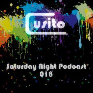 Cusito - Saturday Night Podcast 018 (05-05-2012)