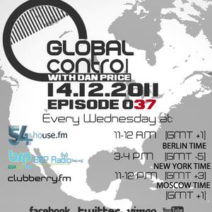 Dan Price - Global Control Episode 037 (14.12.11)