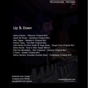 Dj Hynka - Up & Down (March 2012 Djset) (TechHouse, Techno)