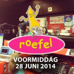 Kennismakingsworkshop radio - Roefeldag Lendelede - voormiddag 28 juni 2014