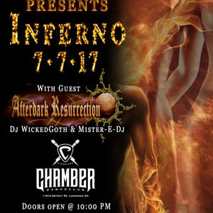 TEXTBEAK - DJ SET INFERNO WITH AFTERDARK RESURRECTION AT THE CHAMBER LAKEWOOD OH 7/7/17