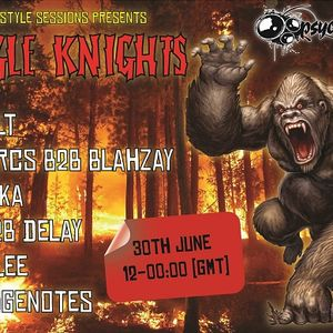 freestyle sessions presents jungle knights v.05- Strangenotes 30th june 2012