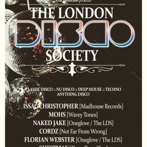 Cordz - Live Set @ The London Disco Society - 11th May 2012