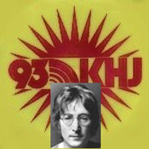 KHJ Los Angeles 930 AM =>>  John Lennon - Guest DJ  <<= 1965 + 27th September 1974