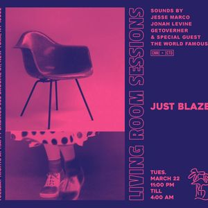Living Room Sessions: Just Blaze