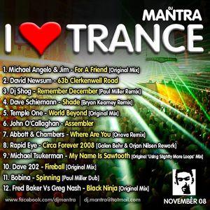 I Love Trance EP 14 mixed by Dj Mantra