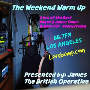 The Weekend Warmup - Jul 8 2016 - 88.7FM Los Angeles - Alex James