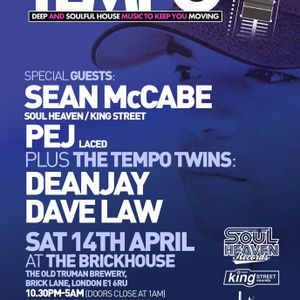 Tempo Sessions on SS radio with the Tempo Twins (Dave Law & DeanJay) (05/04/12)