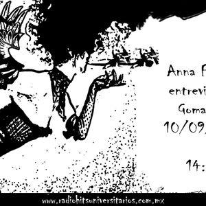Entrevista con Anna Fiori en Goma POP