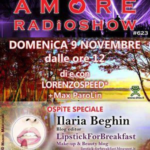LORENZOSPEED present AMORE Radio Show # 623 con iLARiA Lipstick for breakfast MAX PAROLiN part 2