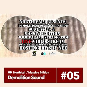 Demolition Sound Radio Show (Massive Edition) @MassRoom Studio 19.3.17