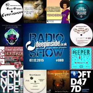 DEEPINSIDE RADIO SHOW 089 (Jocelyn Brown Artist of the week)