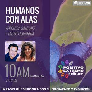 HUMANOS CON ALAS CON VERONICA SANCHEZ Y TADEO OLIVARRIA  06-09-2017