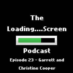 Episode 23 - Christine & Garrett Cooper (Black Ice, Cyberpunk, Puns)