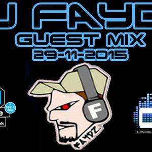 DJ Faydz Guest Mix on Oldskool Sundays Radio Show 29-11-2015