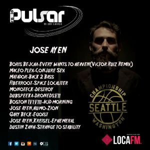 Pulsar by Dani Sinergia #44 (23 - 08 - 2016)Pulsar Radio Show Special Guest Jose Ayen