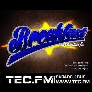 Breakfast Radioshow con Christian Fox 08 07 2017