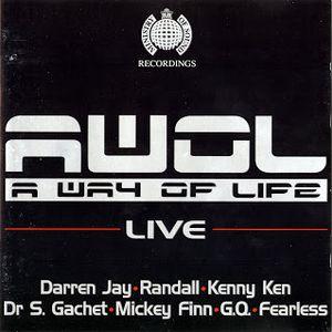 A.W.O.L. at Ministry of Sound '95 - Darren Jay - Randall - Kenny Ken - Dr. S Gachet - Mickey Finn