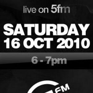 Unique Dj - (live)5 - 5fm Guest Mix 16 Oct 2010