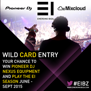 Emerging Ibiza 2015 DJ Competition – DJ Crewpin