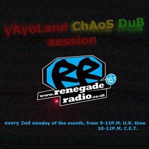 yAyoLand chAos Dub Session Special Selecta P3rfectdrug RenegadeRadio live set 09.07.2017